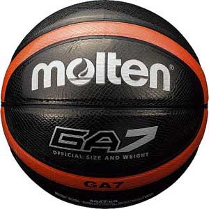 MT-BGA7KO モルテン バスケットボール Molten GA 7号球 ブラック [MTBGA7KO]【返品種別A】