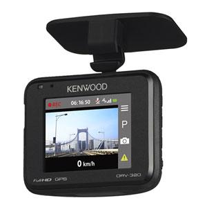 DRV-320 ケンウッド ディスプレイ搭載 ドライブレコーダー KENWOOD