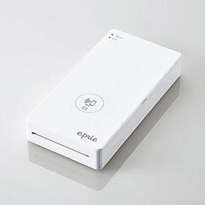 EPR-PP01WWH エレコム モバイルフォトプリンター eprie(エプリー) [EPRPP01WWH]【返品種別A】