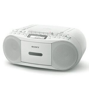 CFD-S70-WC ソニー CDラジカセ(ホワイト) SONY