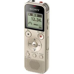 【エントリーでP5倍 8/20 9:59迄】ICD-PX470FNC ソニー リニアPCM対応ICレコーダー4GB内蔵+外部マイクロSDカードスロット搭載(ゴールド) SONY