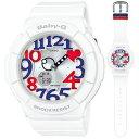 BGA-130TR-7BJF カシオ BABY-G White Tricolor Series デジアナ時計 レディースタイプ [BGA130TR7BJF]【返品種別A】…