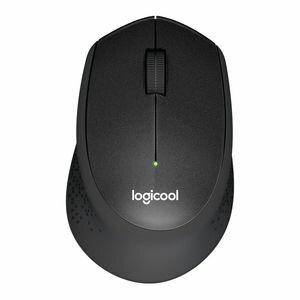M331BK ロジクール 2.4GHzワイヤレス オプティカル静音マウス プラス ブラック Logicool M331 SILENT PLUS Wireless Mouse [M331BK]【返品種別A】