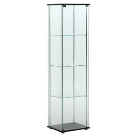 96047 不二貿易 ガラスコレクションケース 4段 TMG-G21 [96047フジボウエキ]