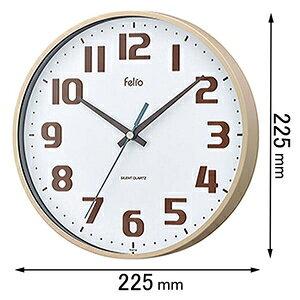 カラーウォールクロック チュロス FEW182-IV-Z