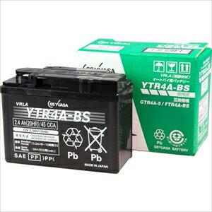 YTR4A-BS GSユアサ バイク用バッテリー【電解液注入・充電済】【他商品との同時購入不可】 [YTR4ABS]【返品種別A】