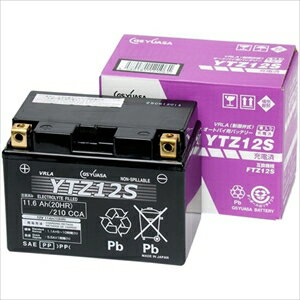 YTZ12S GSユアサ バイク用バッテリー 【電解液注入・充電済】【他商品との同時購入不可】 [YTZ12S]【返品種別A】