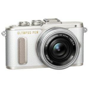 E-PL8 レンズキツト(ホワイト) オリンパス デジタル一眼カメラ「PEN Lite E-PL8」レンズキット(ホワイト) [EPL8レンズキツトホワイト]【返品種別A】