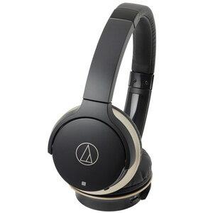 ATH-AR3BT-BK オーディオテクニカ Bluetooth対応ワイヤレスヘッドホン(ブラック・ゴールド) audio-technica