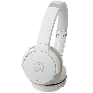 ATH-AR3BT-WH オーディオテクニカ Bluetooth対応ワイヤレスヘッドホン(ホワイト・シャンパンゴールド) audio-technica