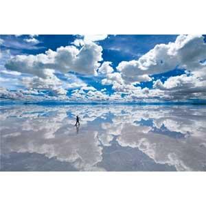 世界の絶景 ウユニ塩湖−ボリビア 1500スモールピース エポック社