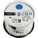 TYCR80YP50SP【税込】 HI-DISC データ用700MB 48倍速対応CD-R 50枚パック ワイドプリンタブル [TYCR80YP50SP]【返品...