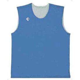 CB24730-2211-ML コンバース リバーシブルノースリーブシャツ(サックス/ホワイト・サイズ:M〜L) CONVERSE