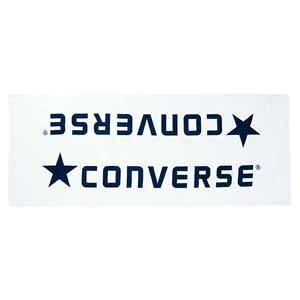 CB142901-1129 コンバース ジャガードベンチタオル(袋入り)(ホワイト/ネイビー) CONVERSE [CB1429011129]