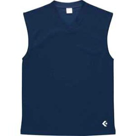 CB251325-2900-M コンバース ノースリーブシャツ(ネイビー・サイズ:M) CONVERSE