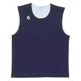 CB24730-2911-ML コンバース リバーシブルノースリーブシャツ(ネイビー/ホワイト・サイズ:M〜L) CONVERSE