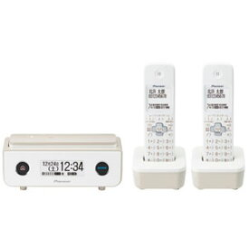 TF-FD35T(TY) パイオニア デジタルコードレス留守番電話機(子機2台)マロン Pioneer TF-FD35シリーズ [TFFD35TTY]