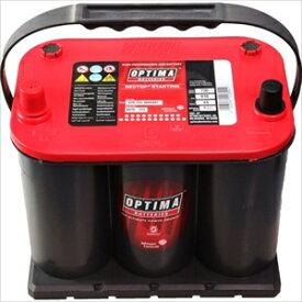 100D23R OPTIMA ディープサイクルバッテリー【他商品との同時購入不可】 Red3.7+3.7用アダプター赤