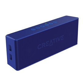 SP-MV2-BU クリエイティブ Bluetooth対応防水ワイヤレススピーカー(ブルー) CREATIVE Sound Blaster MUVO2