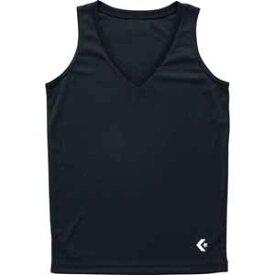 CB351703-1900-L コンバース レディースゲームインナーシャツ(ブラック・L) CONVERSE