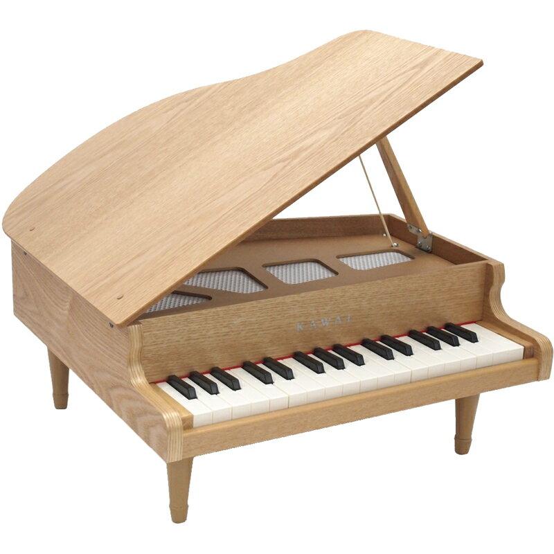 1144 カワイ ミニピアノ (ナチュラル) KAWAI グランドピアノタイプ [1144グランドピアノナチユラル]【返品種別A】【送料無料】