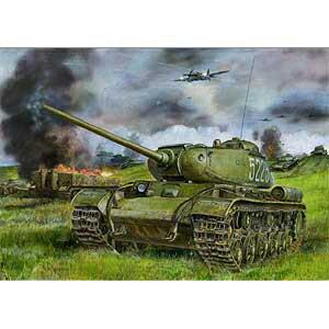 1/35 露KV-85重戦車・可動キャタピラ&インテリア【CB35110】 ブロンコ
