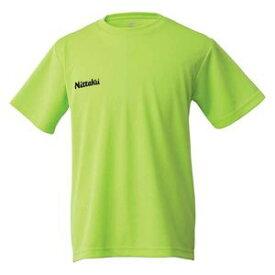 NT-NX2062-41-O ニッタク 卓球用Tシャツ(男女兼用・ジュニア)(ライトグリーン・Oサイズ) Nittaku ドライ Tシャツ
