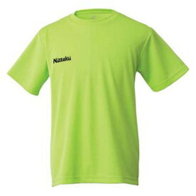 NT-NX2062-41-S ニッタク 卓球用Tシャツ(男女兼用・ジュニア)(ライトグリーン・Sサイズ) Nittaku ドライ Tシャツ