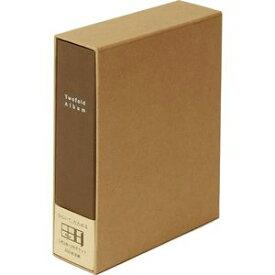 ア-TPL-161BR ナカバヤシ 折りたたみアルバム 布表紙 L判4面 160枚収納(ブラウン)