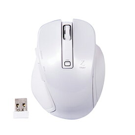 MUS-RKF119W ナカバヤシ 小型2.4GHz ワイヤレス 5ボタンBlueLEDマウス(ホワイト) Digio2