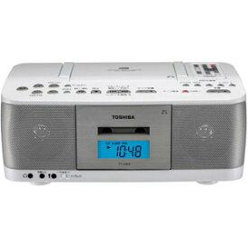 TY-CDK9-W 東芝 CD対応ラジカセ(ホワイト) TOSHIBA