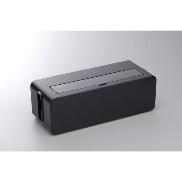 テ-ブルタツプボツクスLブラツク イノマタ テーブルタップボックスLサイズ(ブラック) inomata
