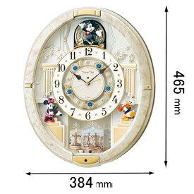 FW580W セイコータイムクリエーション からくり時計 【ディズニー】 からくり時計 ミッキー&フレンズ [FW580W]【返品種別A】