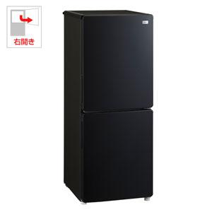 (標準設置料込)【500円クーポン9/26am1:59迄】JR-NF148A-K ハイアール 148L 2ドア冷蔵庫(ブラック)【右開き】 Haier Global Series