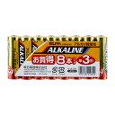 LR6AB/8S ELPA アルカリ乾電池単3形 8本パック ALKALINE [LR6AB8S]