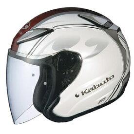AVAND2-CITTA-PWH-M OGKカブト ジェットヘルメット カラーリング(パールホワイト M) AVAND-II CITTA