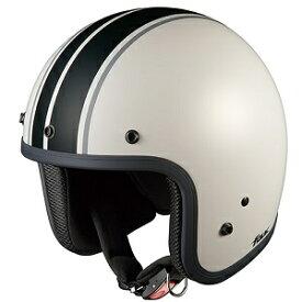 FOLKG1-WHBK OGKカブト ストリートジェットヘルメット カラーリング(フラットホワイトブラック 57-59cm) FOLK G1