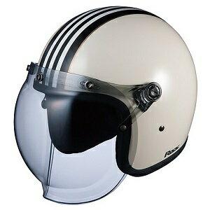 【エントリーでP5倍 8/20 9:59迄】ROCKG1-WHBK OGKカブト ストリートジェットヘルメット カラーリング(ホワイトブラック 57-59cm) ROCK G1