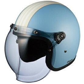 ROCKG1-BLIV OGKカブト ストリートジェットヘルメット カラーリング(フラットブルーアイボリー 57-59cm) ROCK G1