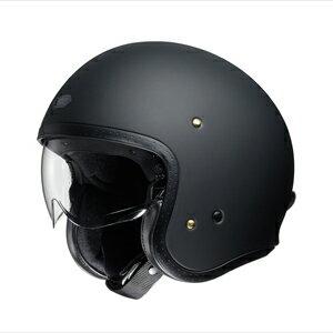 J・O-MBK-L SHOEI ストリートジェットヘルメット((マットブラック)[L]) J・O [SJOMBKL]【返品種別A】