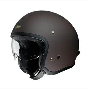 J・O-MBR-L SHOEI ストリートジェットヘルメット((マットブラウン)[L]) J・O
