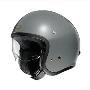 J・O-GR-M SHOEI ストリートジェットヘルメット((ラットグレー)[M]) J・O