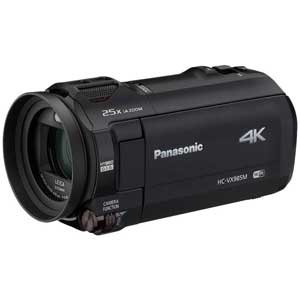 HC-VX985M-K パナソニック デジタル4Kビデオカメラ「HC-VX985M」(ブラック) [HCVX985MK]【返品種別A】