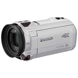 HC-VX985M-W パナソニック デジタル4Kビデオカメラ「HC-VX985M」(ホワイト) [HCVX985MW]【返品種別A】