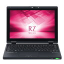 CF-RZ6HFMQR【税込】 パナソニック 10.1型 ノートパソコンLet's note RZシリーズ LTE対応モデル ブラック (Office Home...