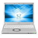 CF-SZ6HDYPR【税込】 パナソニック 12.1型 ノートパソコンLet's note SZシリーズ シルバー ドライブレス軽量モデル (Office H...