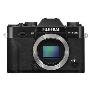 F X-T20-B 富士フイルム ミラーレス一眼カメラ「FUJIFILM X-T20」ボディ(ブラック)