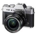 F X-T20LK-S 富士フイルム ミラーレスデジタルカメラ「X-T20」レンズキット(シルバー)
