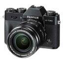 F X-T20LK-B【税込】 富士フイルム ミラーレスデジタルカメラ「X-T20」レンズキット(ブラック) [FXT20LKB]【返品種…