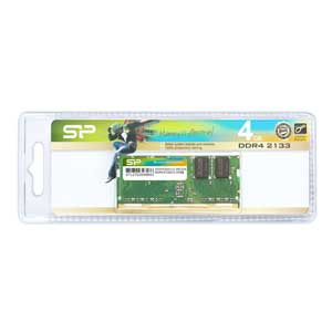 SP004GBSFU213N02JB シリコンパワー PC4-17000(DDR4-2133)260pin DDR4 SDRAM S.O.DIMM 4GB [SP004GBSFU213N02JB]【返品種別B】
